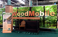 PA Hardwoods Council Wood Mobile
